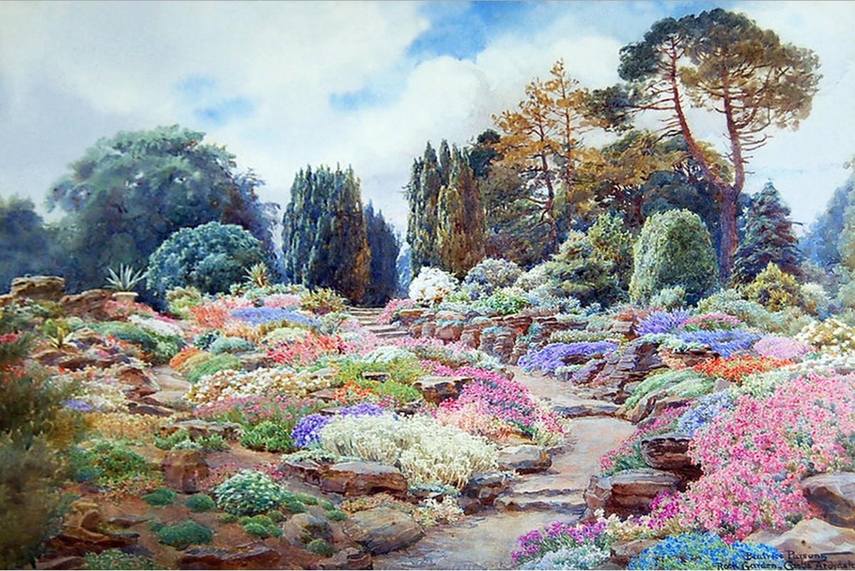 Непревзойденный художник садов в акварели, Беатрис Парсонс