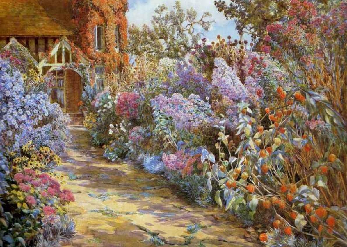 Беатрис Парсонс . Цветущий дивный сад