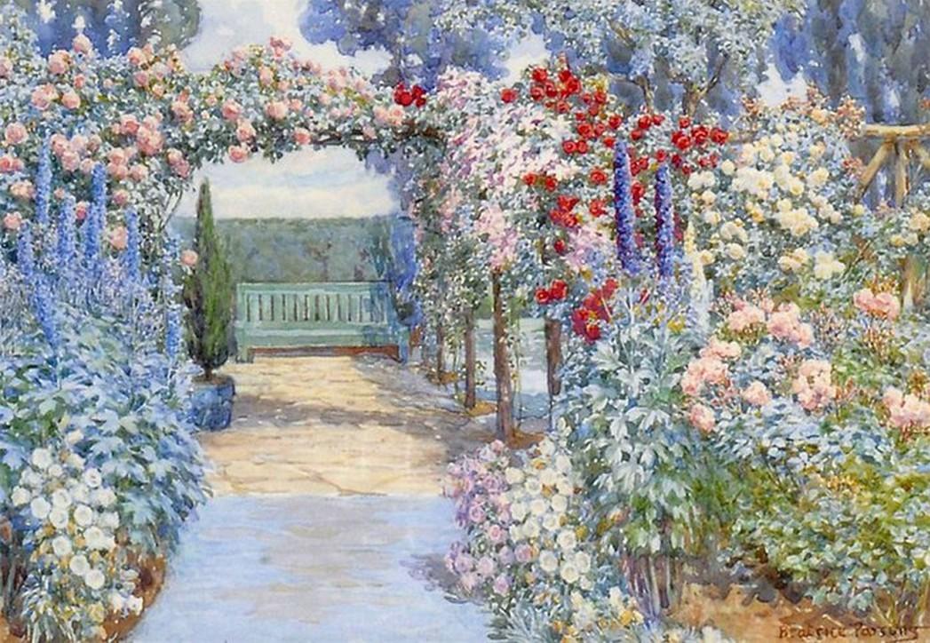 Цветущий дивный сад