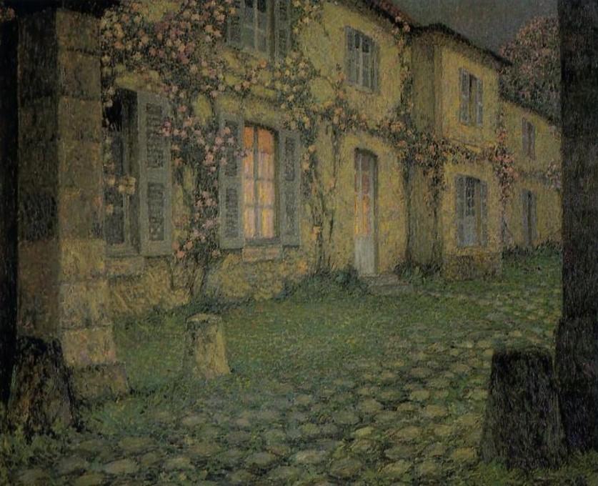 Henri Eugene Augustin Le Sidaner (1862 - 1939)13