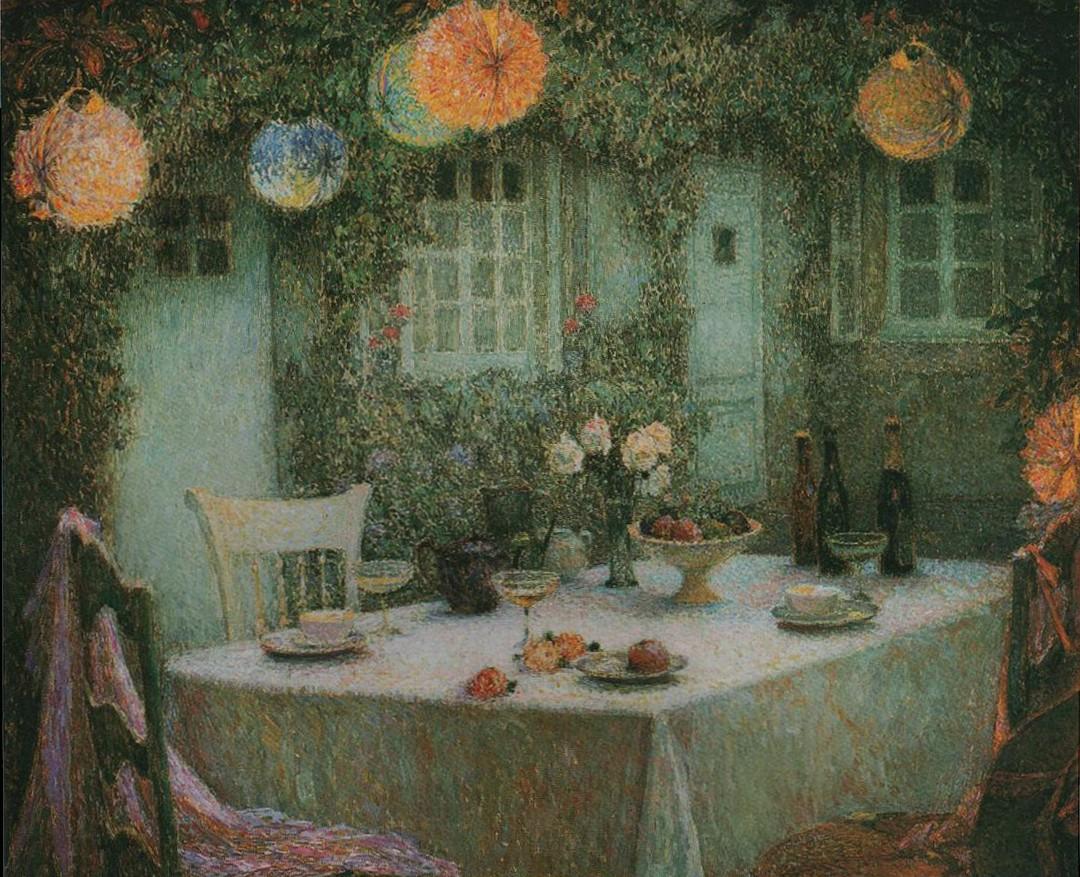 Henri Eugene Augustin Le Sidaner (1862 - 1939)19