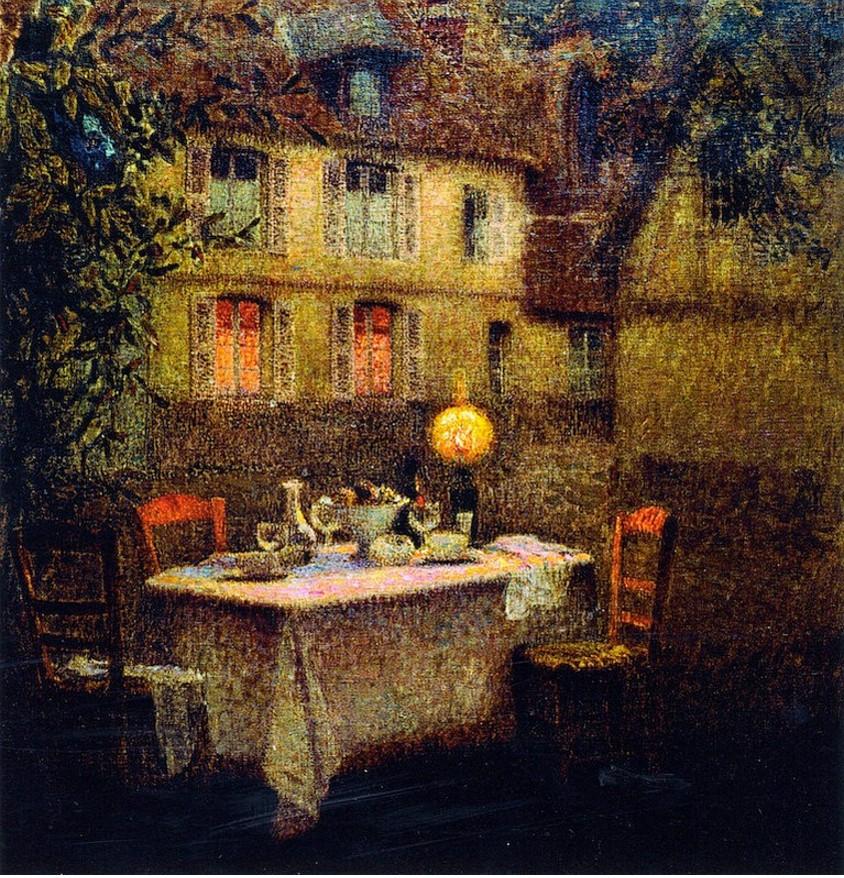 Henri Eugene Augustin Le Sidaner (1862 - 1939)5