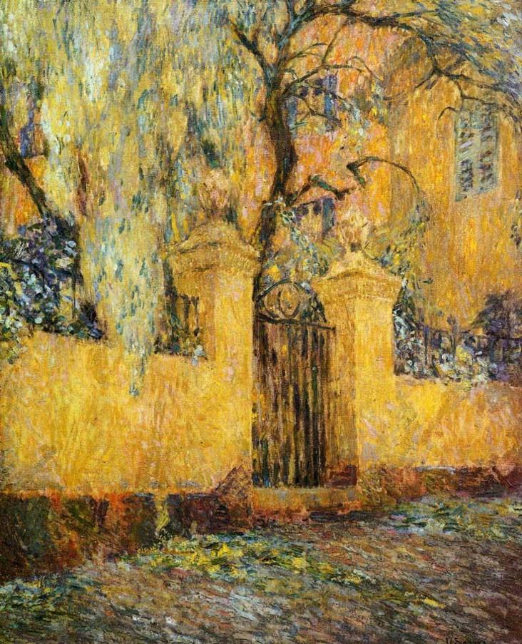 Henri Eugene Augustin Le Sidaner (1862 - 1939)56