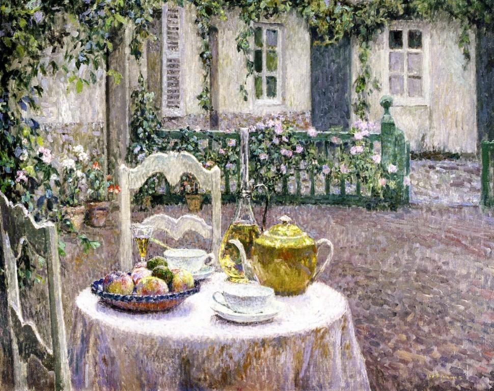 Henri Eugene Augustin Le Sidaner (1862 - 1939)63