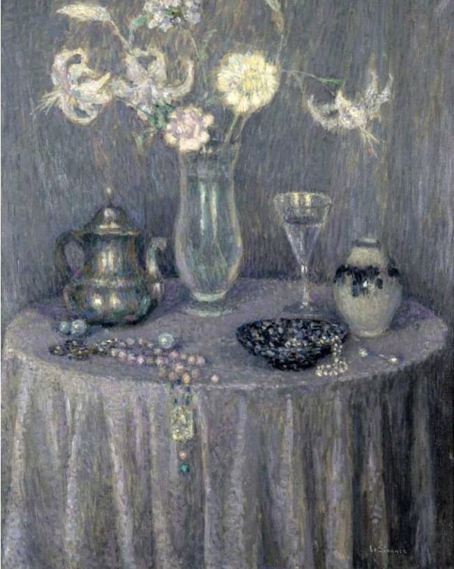 Henri Eugene Augustin Le Sidaner (1862 - 1939)76