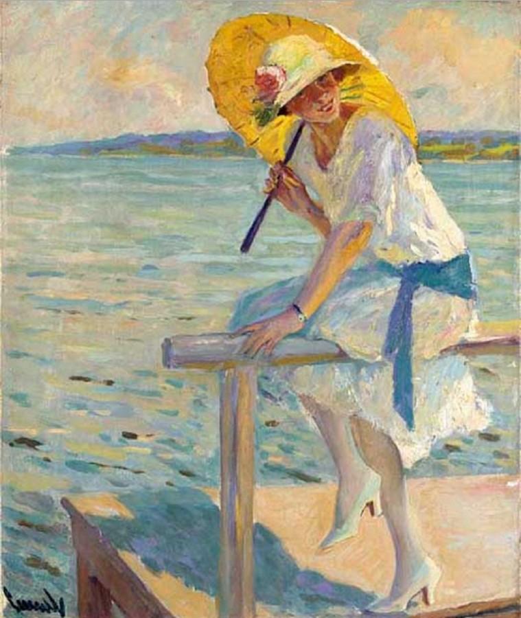 EDWARD ALFRED CUCUEL (1875-1954) 1