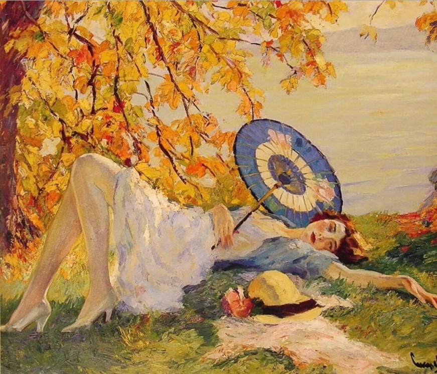 EDWARD ALFRED CUCUEL (1875-1954) 22