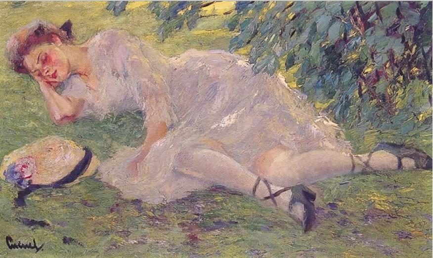 EDWARD ALFRED CUCUEL (1875-1954) 27