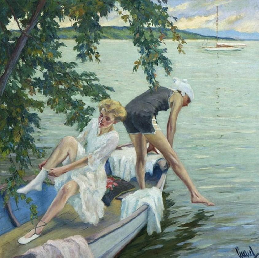 EDWARD ALFRED CUCUEL (1875-1954) 4